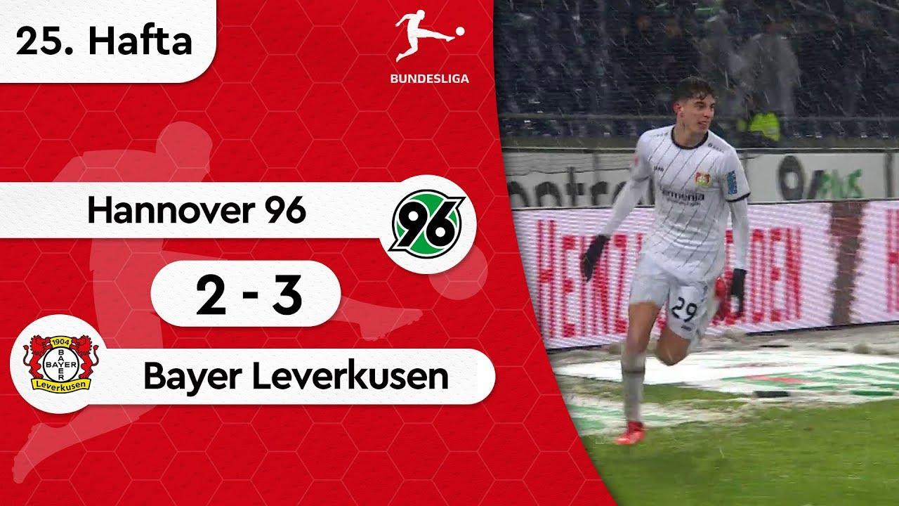 Hannover 96 - Bayer Leverkusen (2-3) - Maç Özeti - Bundesliga 2018/19