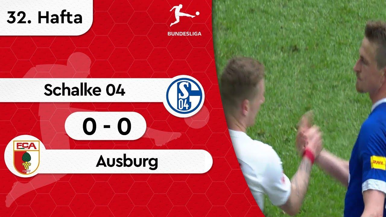 Schalke 04 - Ausburg (0-0) - Maç Özeti - Bundesliga 2018/19