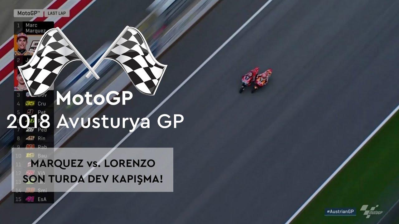 Son Turda Dev Kapışma! (2018 MotoGP - Avusturya Grand Prix)