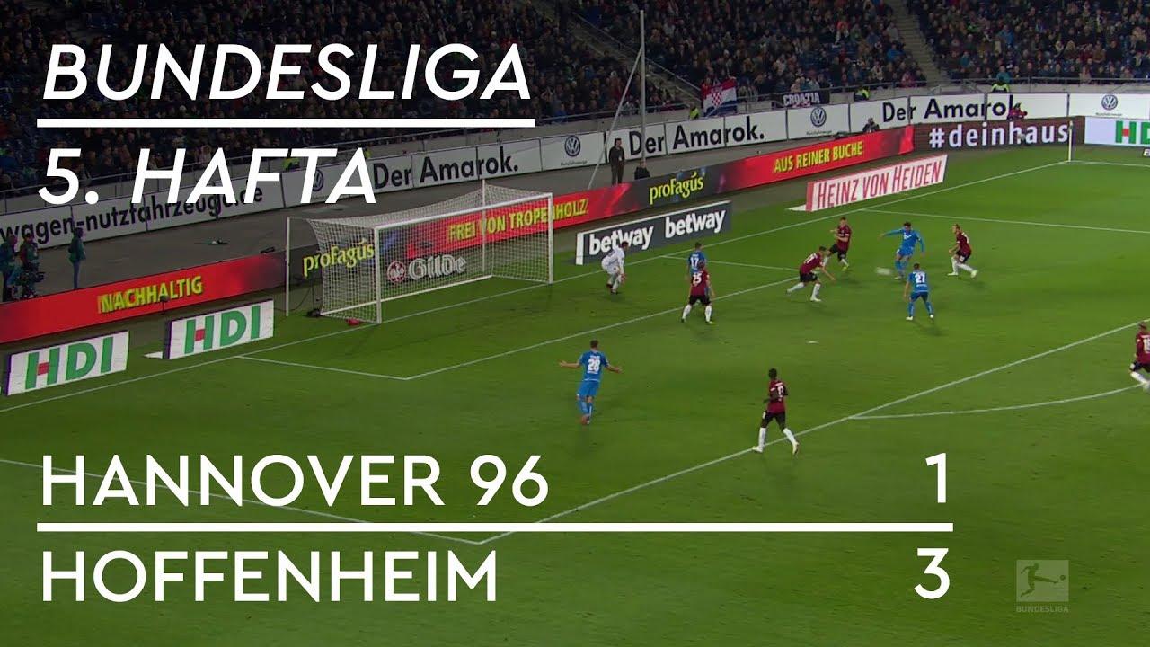 Hannover 96 - Hoffenheim (1-3) - Maç Özeti - Bundesliga 2018/19