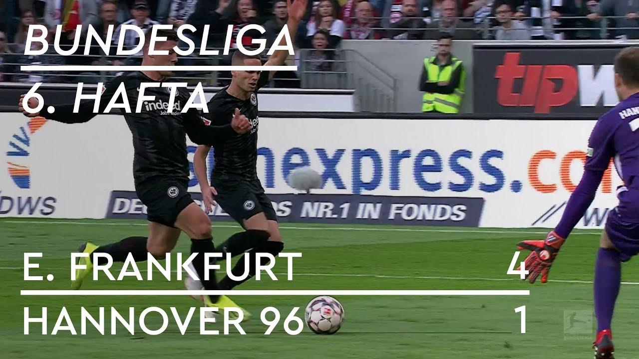 Eintracht Frankfurt - Hannover 96 (4-1) - Maç Özeti - Bundesliga 2018/19