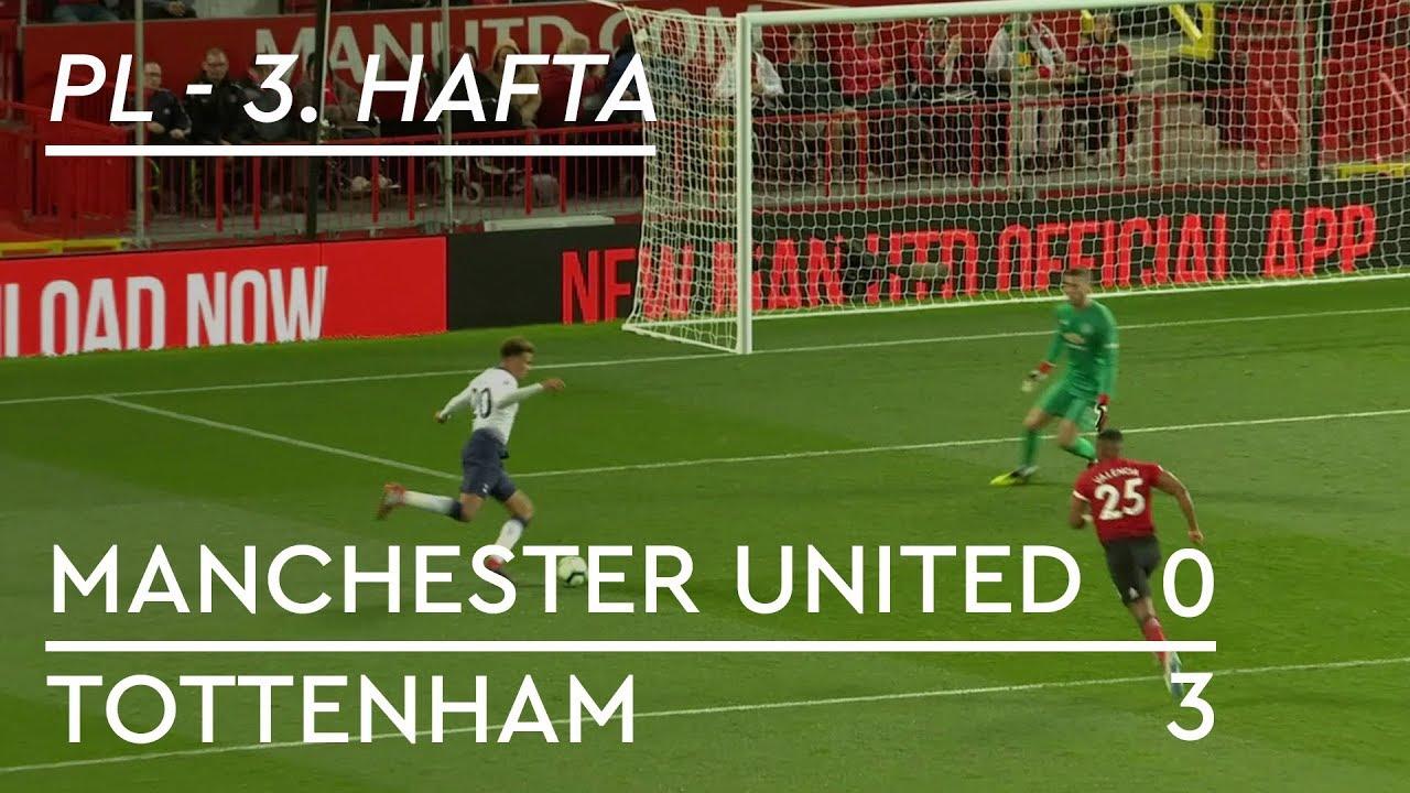 Manchester United - Tottenham (0-3) - Maç Özeti - Premier League 2018/19