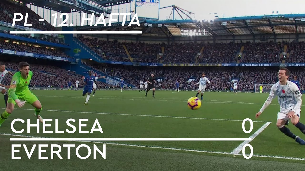 Chelsea - Everton (0-0) - Maç Özeti - Premier League 2018/19