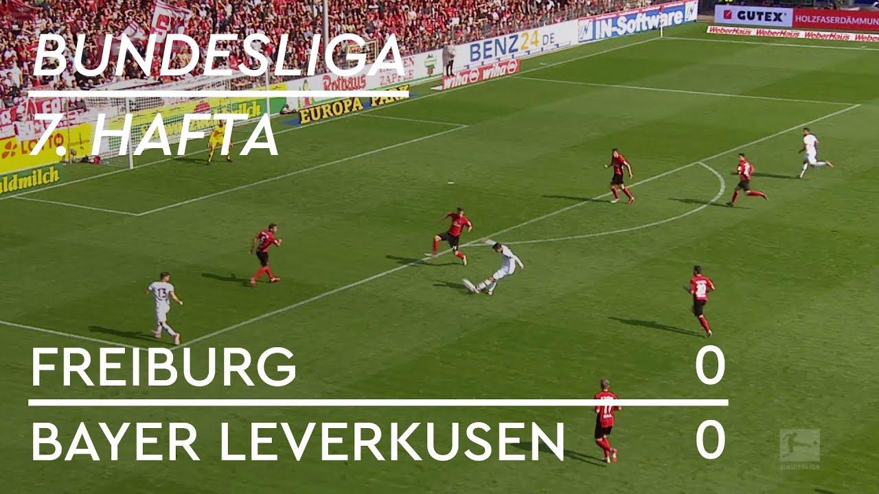 Freiburg - Bayer Leverkusen (0-0) - Maç Özeti - Bundesliga 2018/19