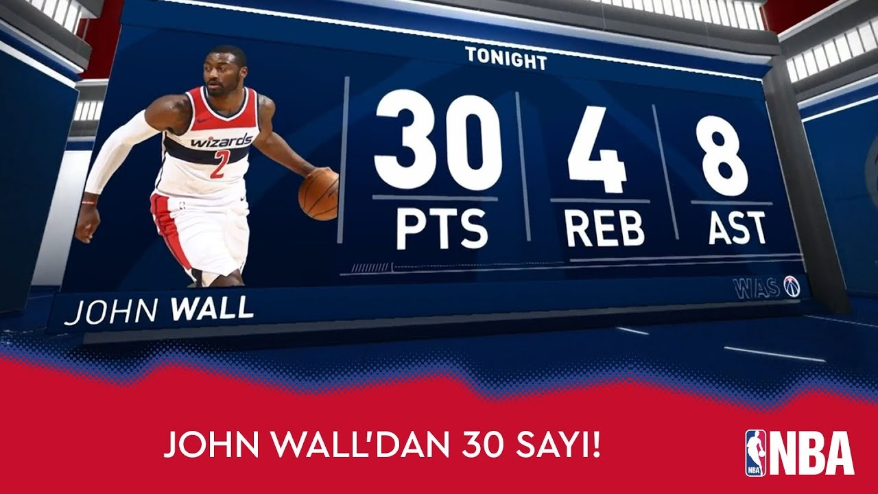 John Wall'dan Clippers'a 30 Sayı!
