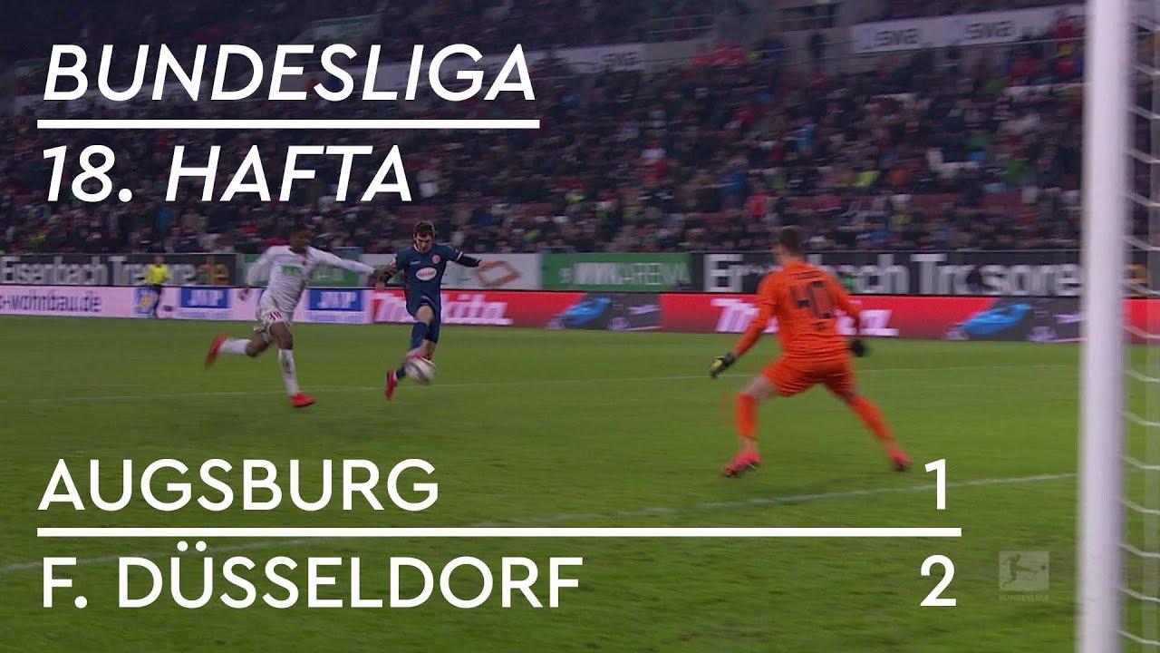 Augsburg - Fortuna Düsseldorf (1-2) - Maç Özeti - Bundesliga 2018/19