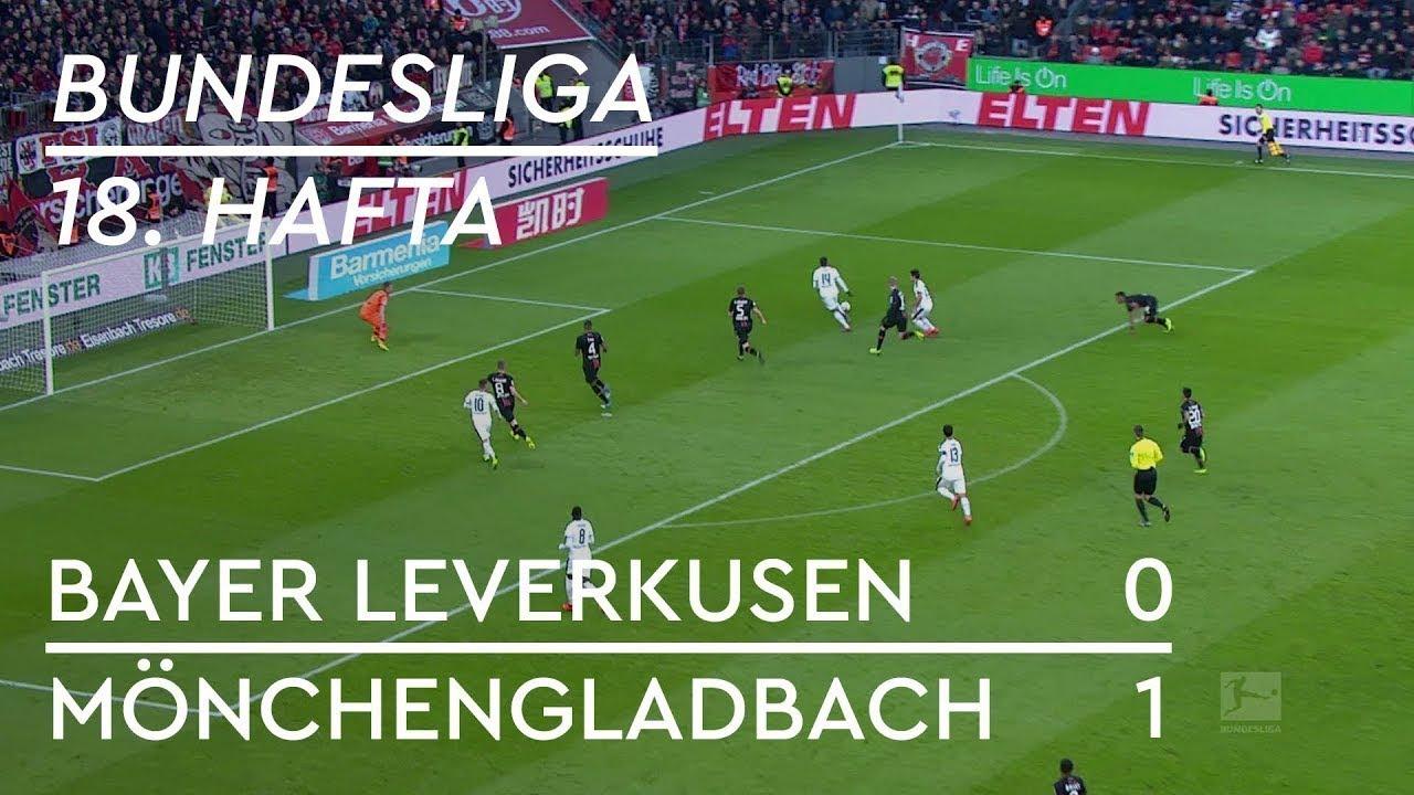 Bayer Leverkusen - Borussia Mönchengladbach (0-1) - Maç Özeti - Bundesliga 2018/19 - Türkçe Anlatım