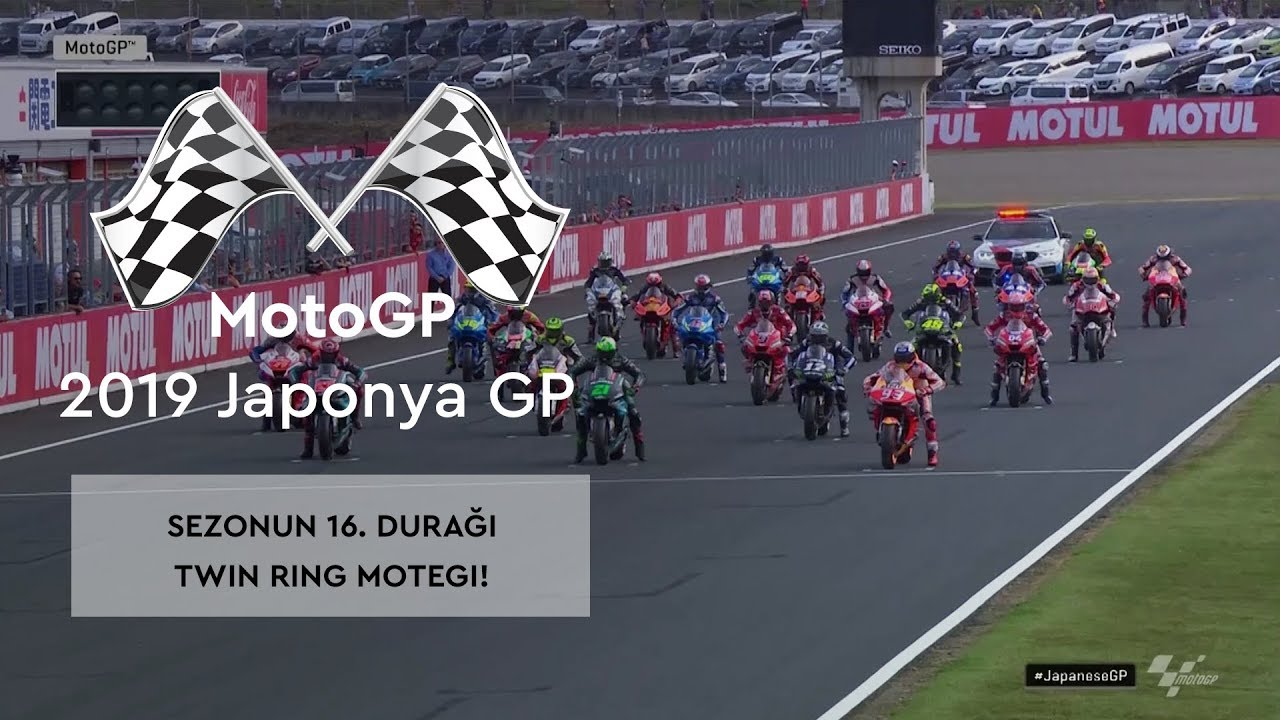 Sezonun 16. Durağı Twin Ring Motegi! (MotoGP 2019 - Japonya Grand Prix)