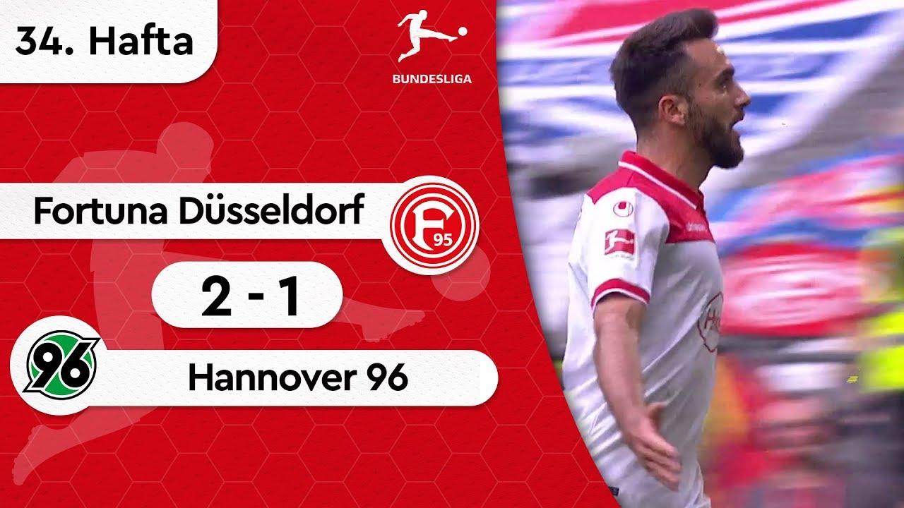 Fortuna Düsseldorf - Hannover 96 (2-1) - Maç Özeti - Bundesliga 2018/19