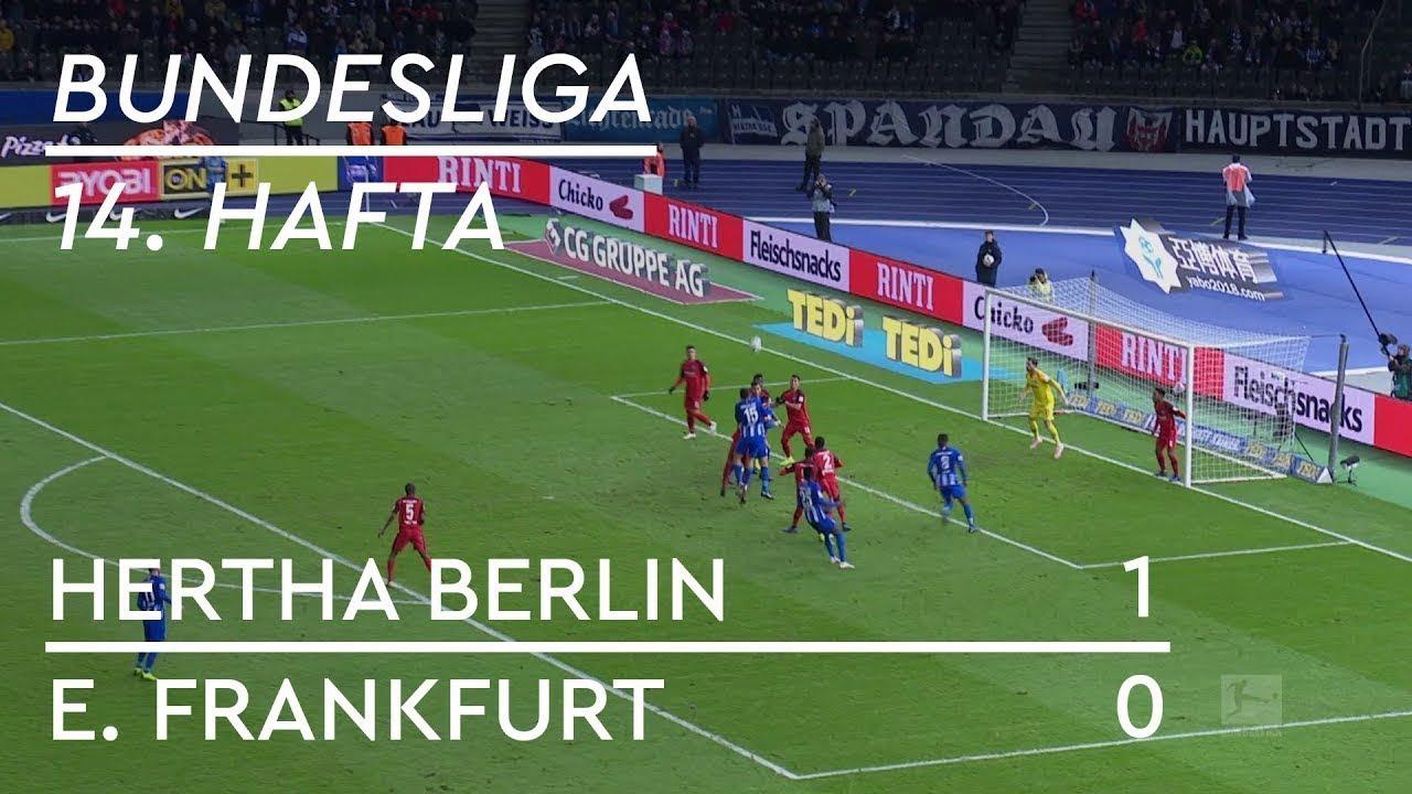 Hertha Berlin - Eintracht Frankfurt (1-0) - Maç Özeti - Bundesliga 2018/19 - Türkçe Anlatım