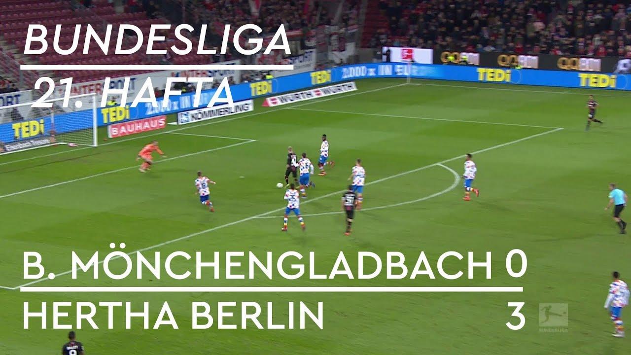 Borussia Mönchengladbach - Hertha Berlin (0-3) - Maç Özeti - Bundesliga 2018/19