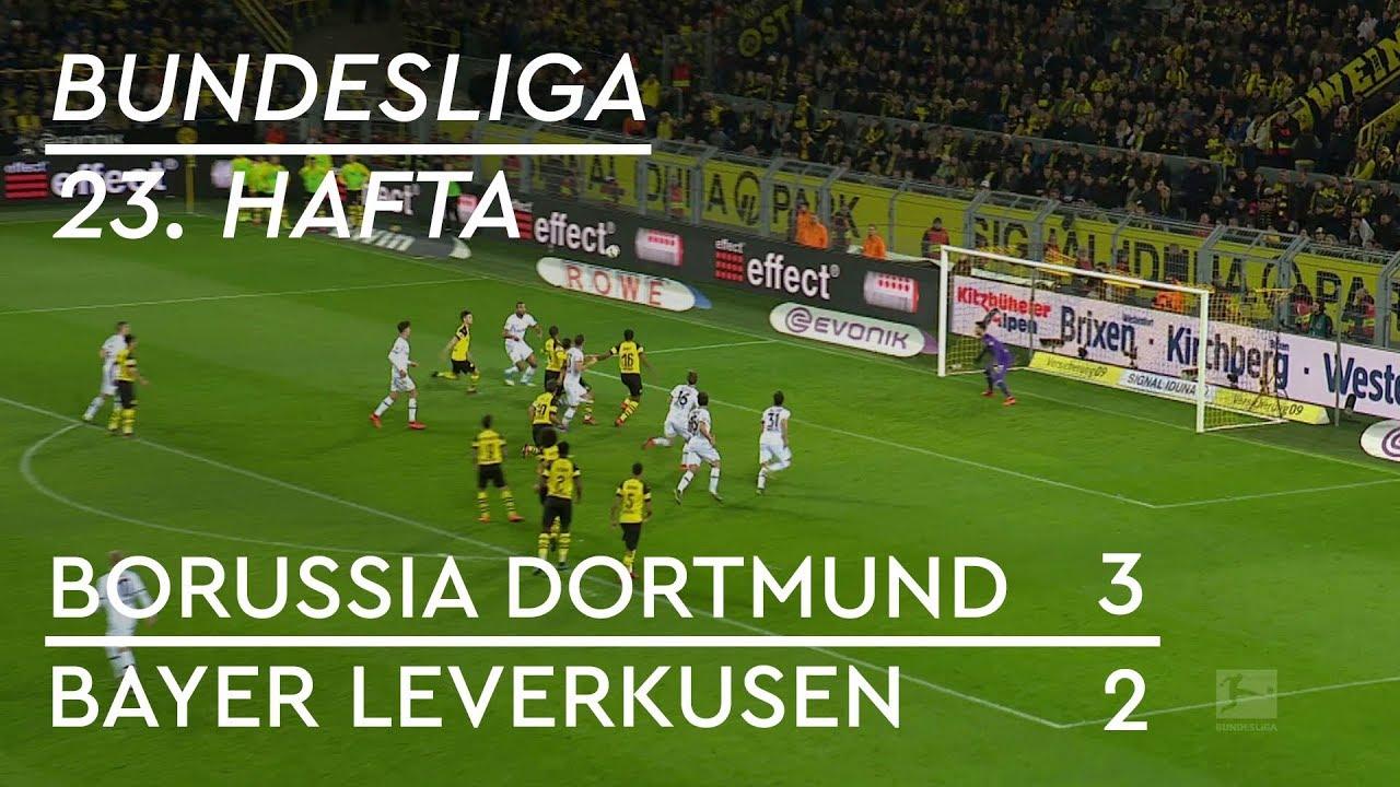 Borussia Dortmund - Bayer Leverkusen (3-2) - Maç Özeti - Bundesliga 2018/19 - Türkçe Anlatım