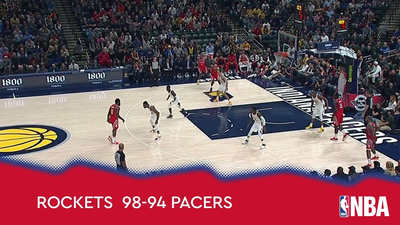 Houston Rockets 98 - 94 Indiana Pacers