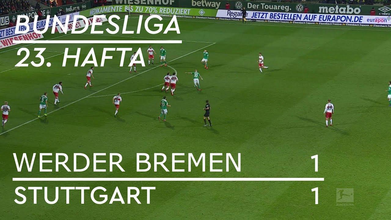 Werder Bremen - Stuttgart (1-1) - Maç Özeti - Bundesliga 2018/19 - Türkçe Anlatım