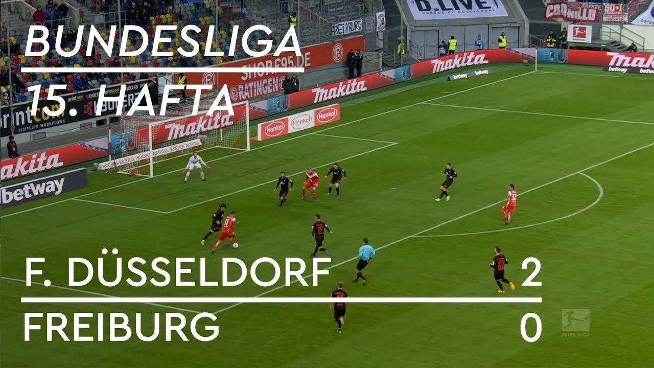 Fortuna Düsseldorf - Freiburg (2-0) - Maç Özeti - Bundesliga 2018/19 - Türkçe Anlatım