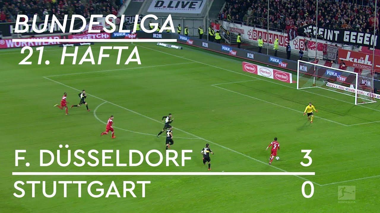 Fortuna Düsseldorf -  Stuttgart (3-0) - Maç Özeti - Bundesliga 2018/19