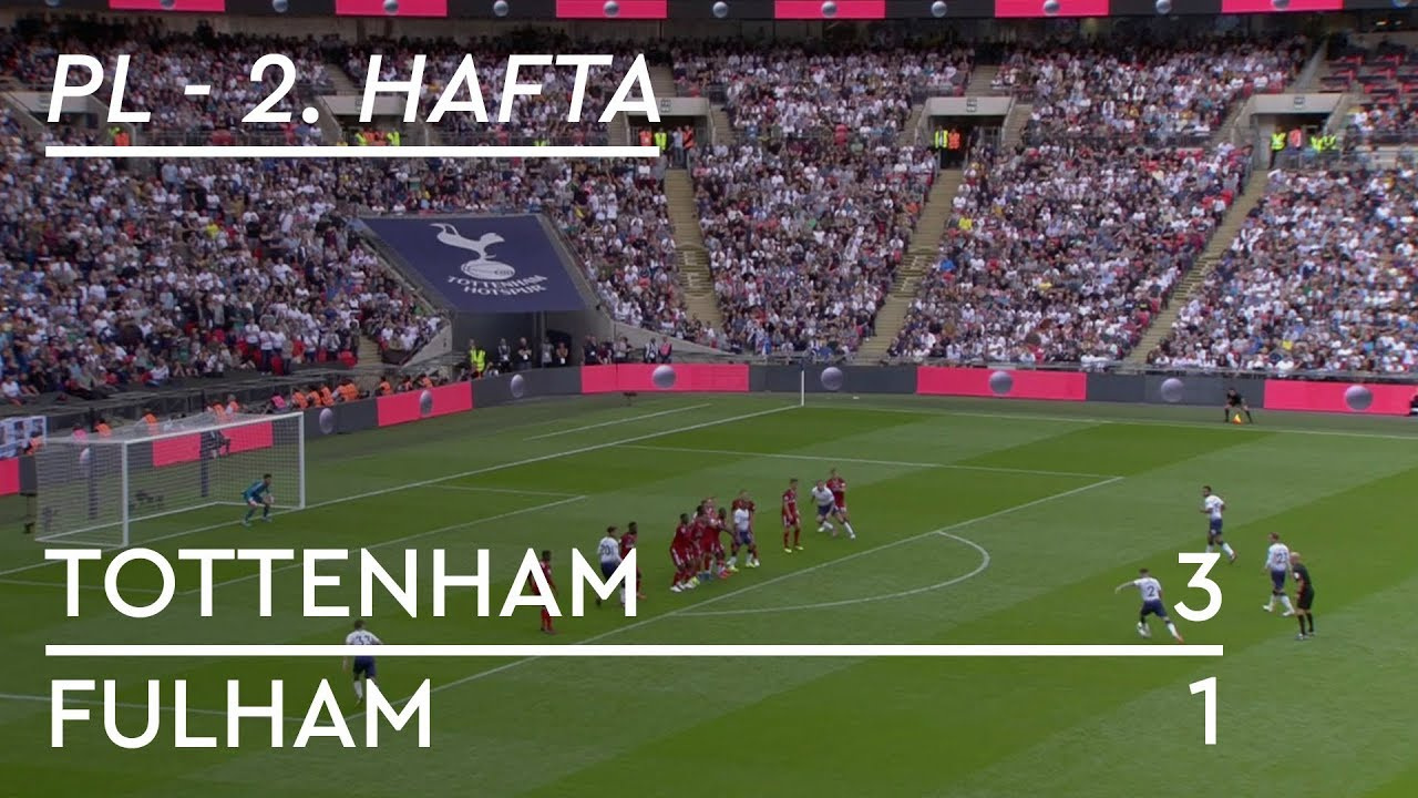 Tottenham - Fulham (3-1) - Maç Özeti - Premier League 2018/19