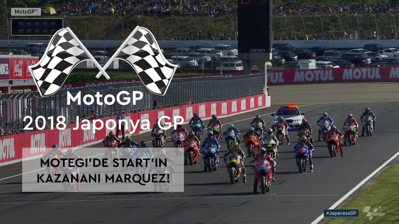 Start'ın Kazananı Marquez, Kaybedeni Zarco! (MotoGP 2018 - Japonya Grand Prix)