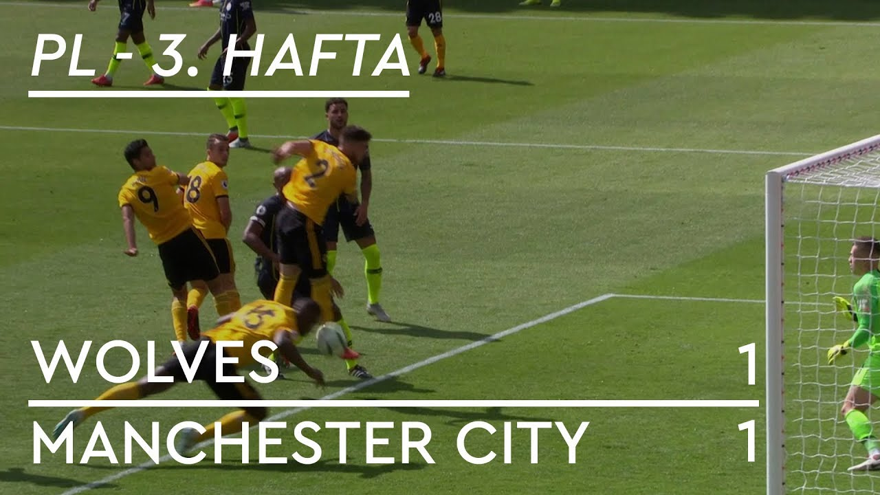 Wolves - Manchester City (1-1) - Maç Özeti - Premier League 2018/19