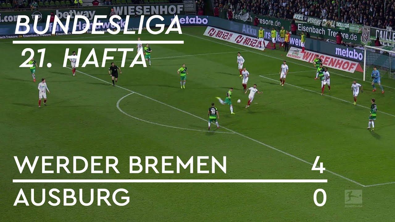 Werder Bremen -  Augsburg (4-0) - Maç Özeti - Bundesliga 2018/19