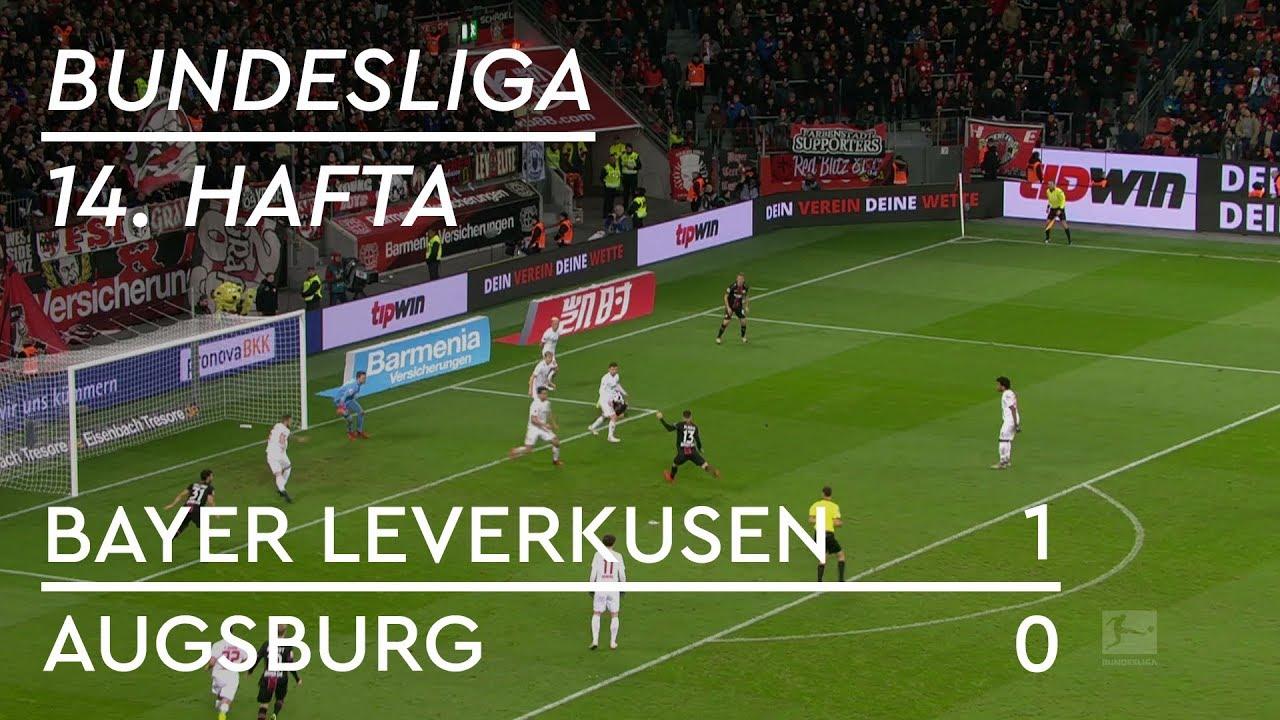 Bayer Leverkusen - Augsburg (1-0) - Maç Özeti - Bundesliga 2018/19