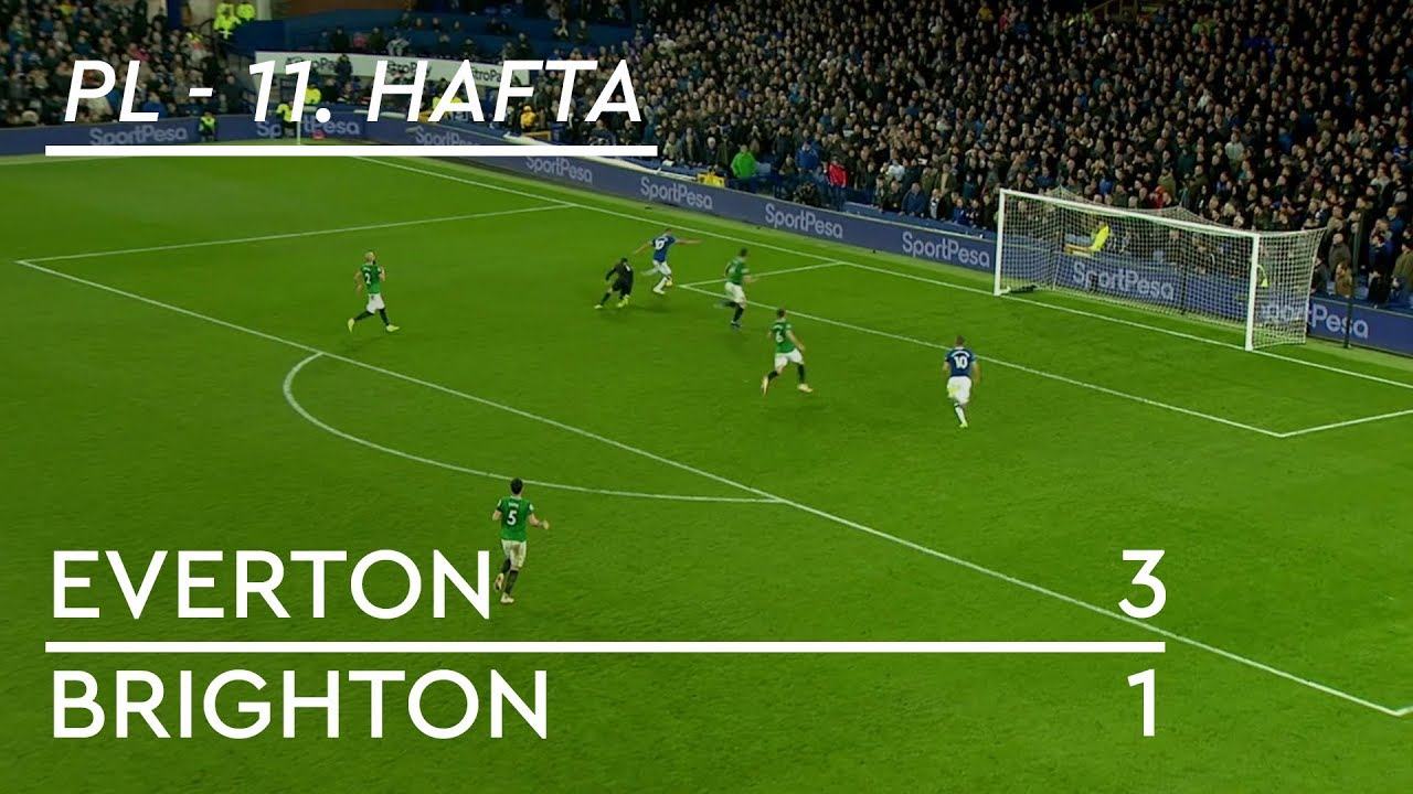 Everton - Brighton (3-1) - Maç Özeti - Premier League 2018/19