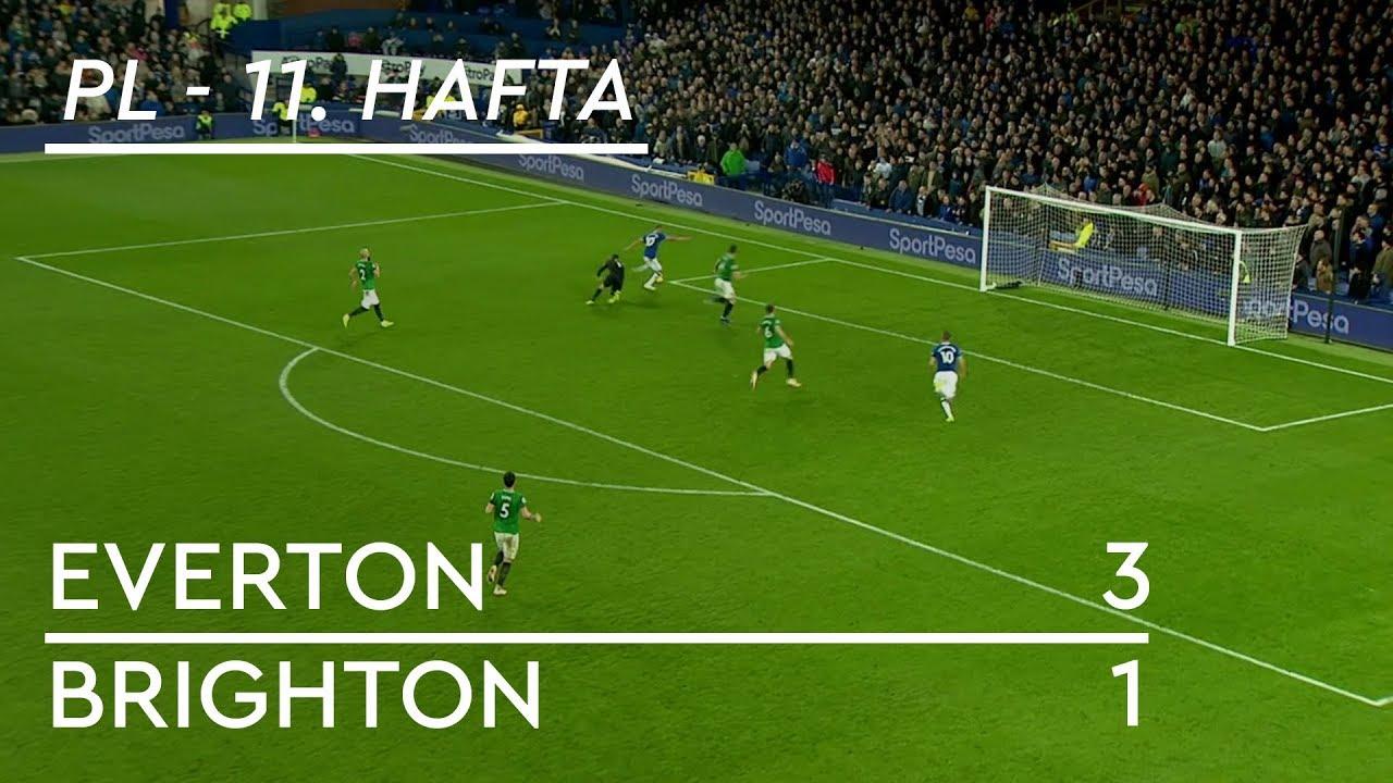 Everton - Brighton (3-1) - Maç Özeti - Premier League 2018/19