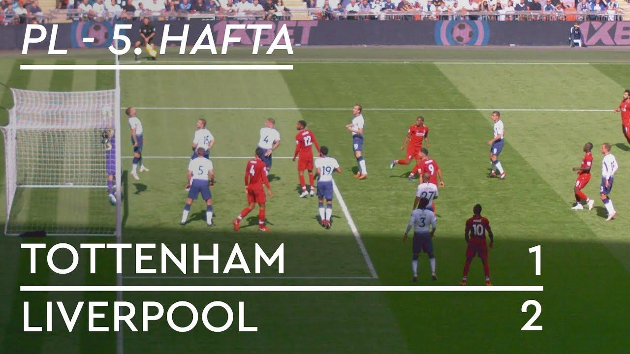 Tottenham - Liverpool (1-2) - Maç Özeti - Premier League 2018/19