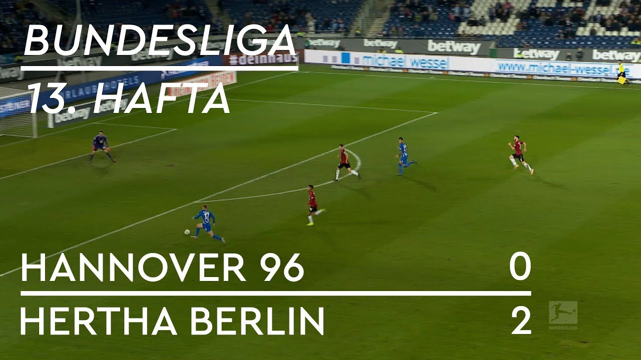 Hannover 96  - Hertha Berlin (0-2) - Maç Özeti - Bundesliga 2018/19