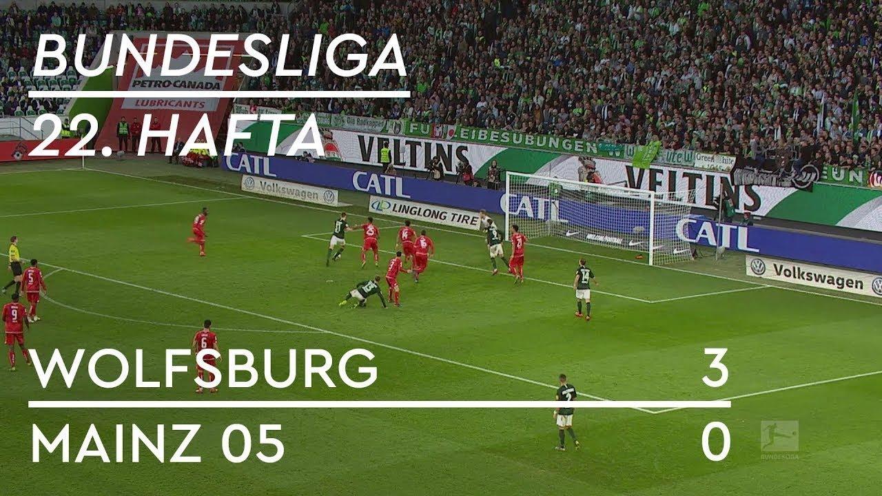 Wolfsburg - Mainz 05 (3-0) - Maç Özeti - Bundesliga 2018/19 - Türkçe Anlatım