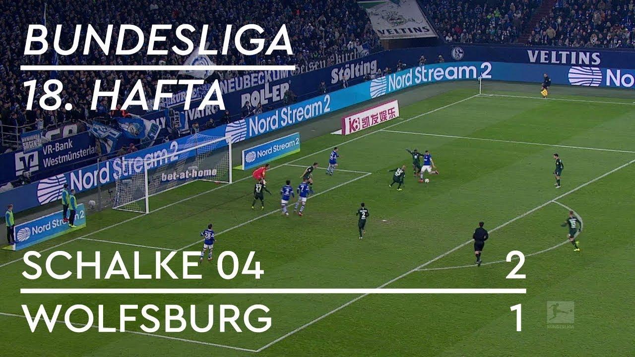Schalke 04 - Wolfsburg (2-1) - Maç Özeti - Bundesliga 2018/19 - Türkçe Anlatım