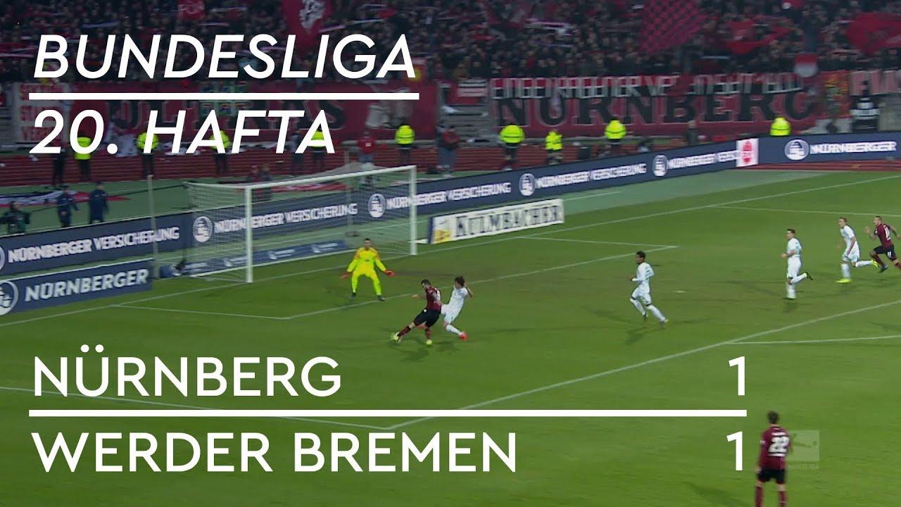 Nürnberg - Werder Bremen (1-1) - Maç Özeti - Bundesliga 2018/19