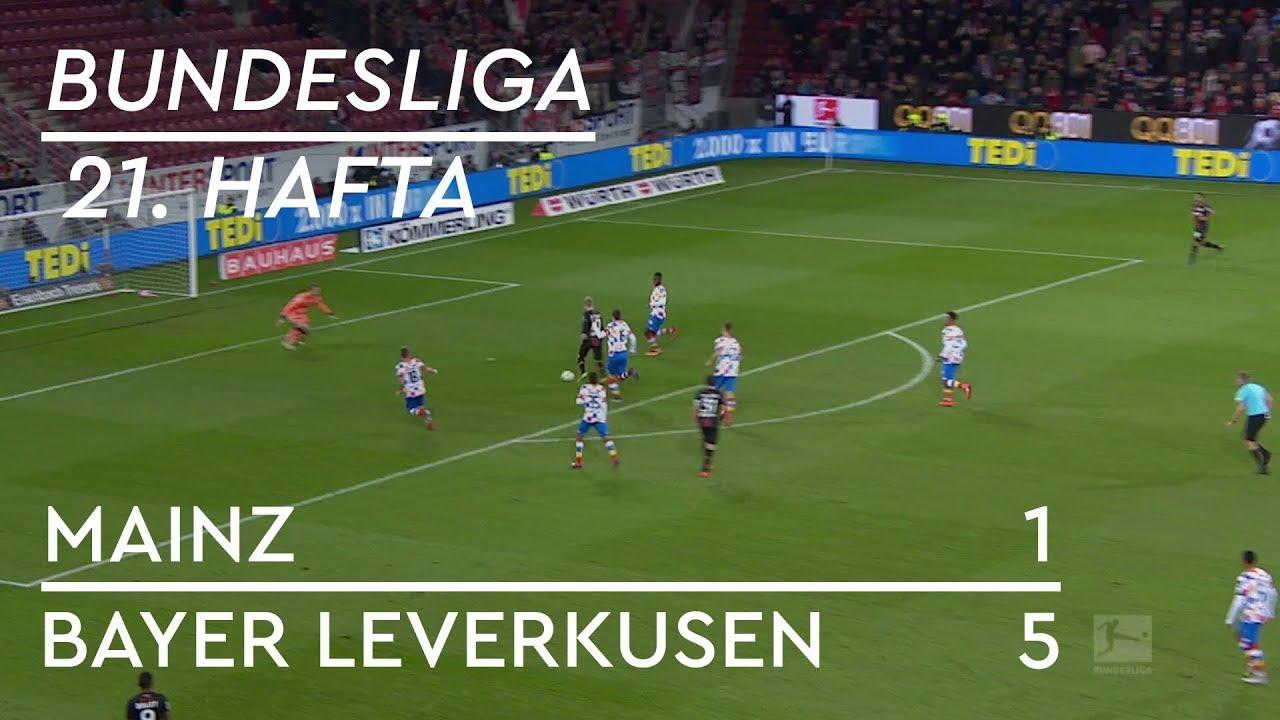 Mainz 05 - Bayer Leverkusen (1-5) - Maç Özeti - Bundesliga 2018/19