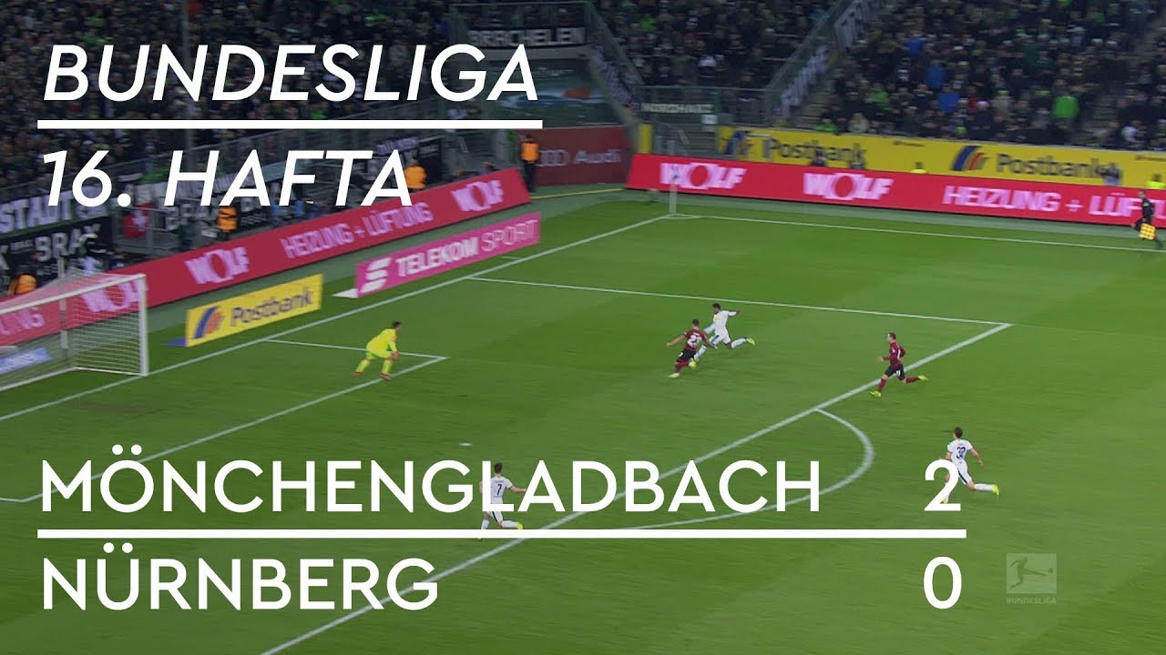 Borussia Mönchengladbach - Nürnberg (2-0) - Maç Özeti - Bundesliga 2018/19 - Türkçe Anlatım