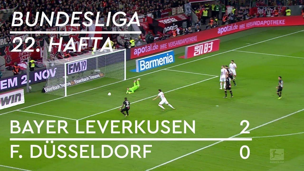 Bayer Leverkusen  - Fortuna Düsseldorf (2-0) - Maç Özeti - Bundesliga 2018/19 - Türkçe Anlatım
