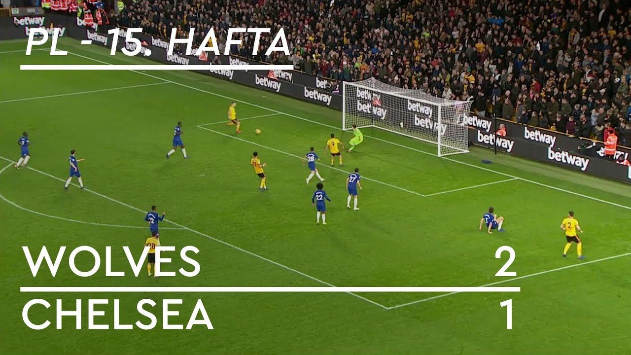 Wolves - Chelsea (2-1) - Maç Özeti - Premier League 2018/19