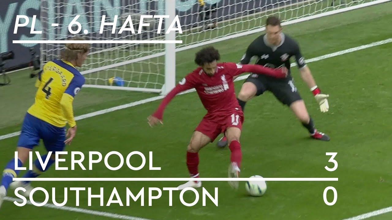 Liverpool - Southampton (3-0) - Maç Özeti - Premier League 2018/19