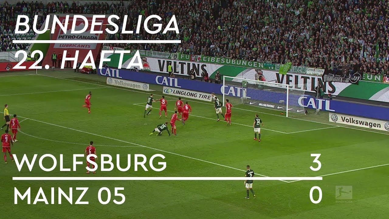 Wolfsburg - Mainz 05 (3-0) - Maç Özeti - Bundesliga 2018/19