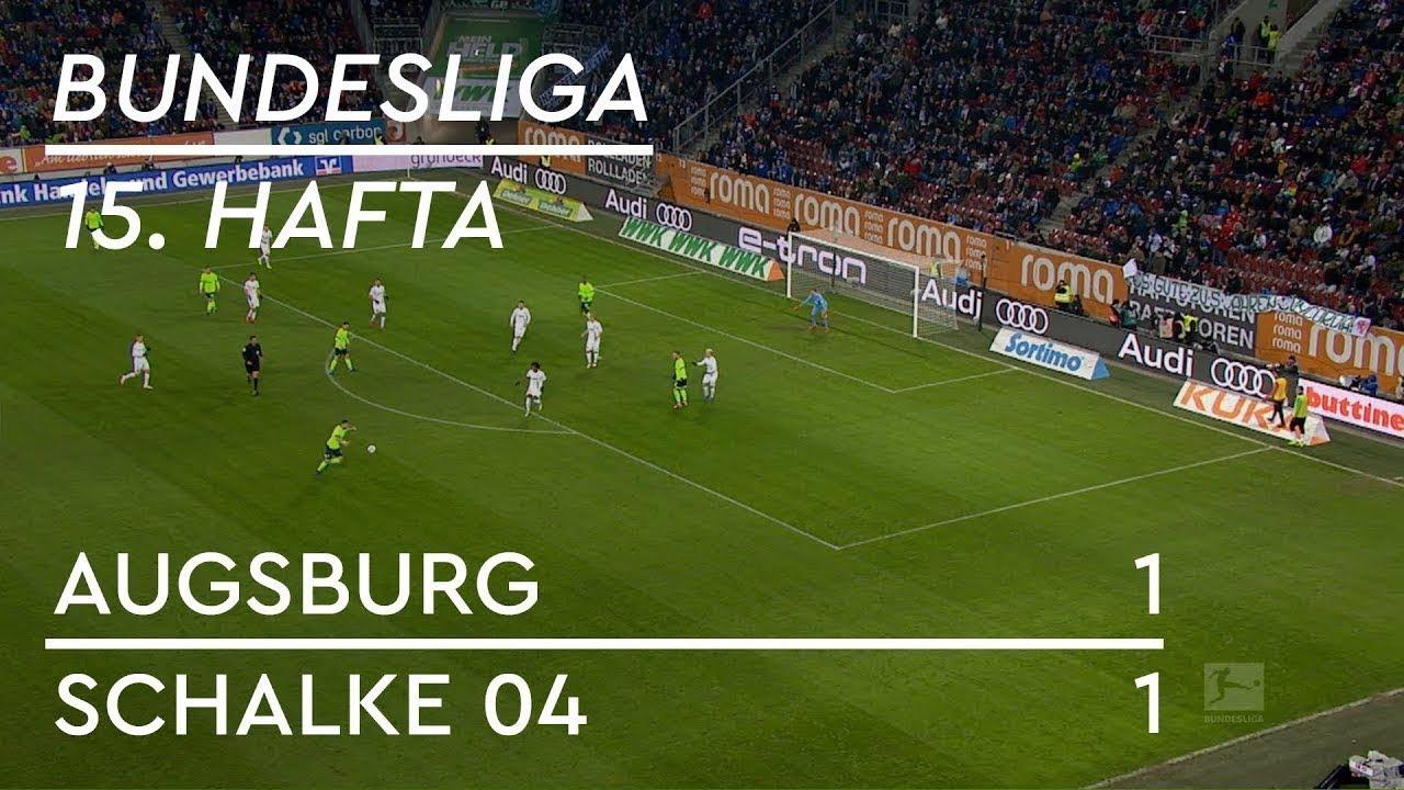 Augsburg - Schalke 04 (1-1) - Maç Özeti - Bundesliga 2018/19 - Türkçe Anlatım