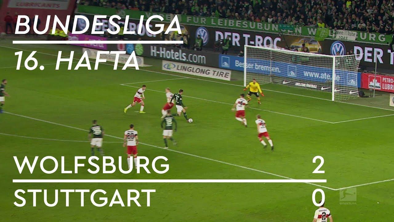 Wolfsburg - Stuttgart (2-0) - Maç Özeti - Bundesliga 2018/19