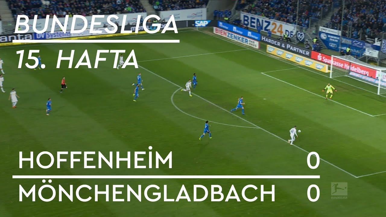 Hoffenheim - Mönchengladbach (0-0) - Maç Özeti - Bundesliga 2018/19