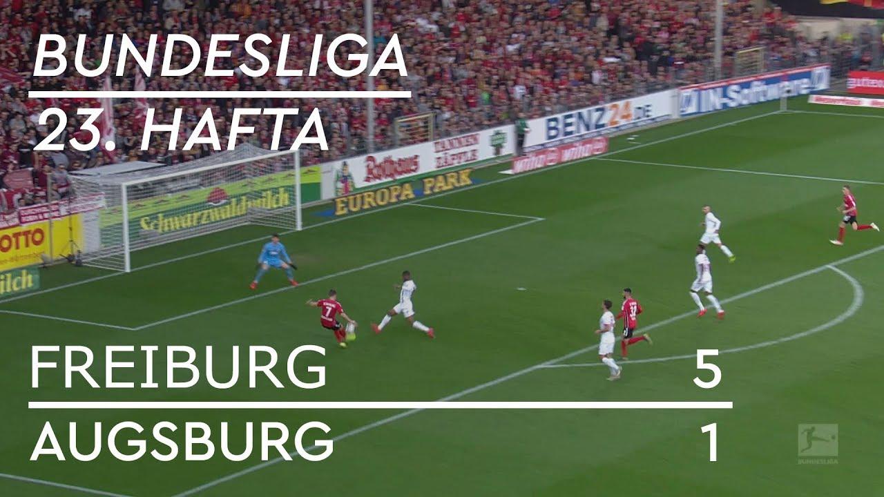 Freiburg - Augsburg (5-1) - Maç Özeti - Bundesliga 2018/19
