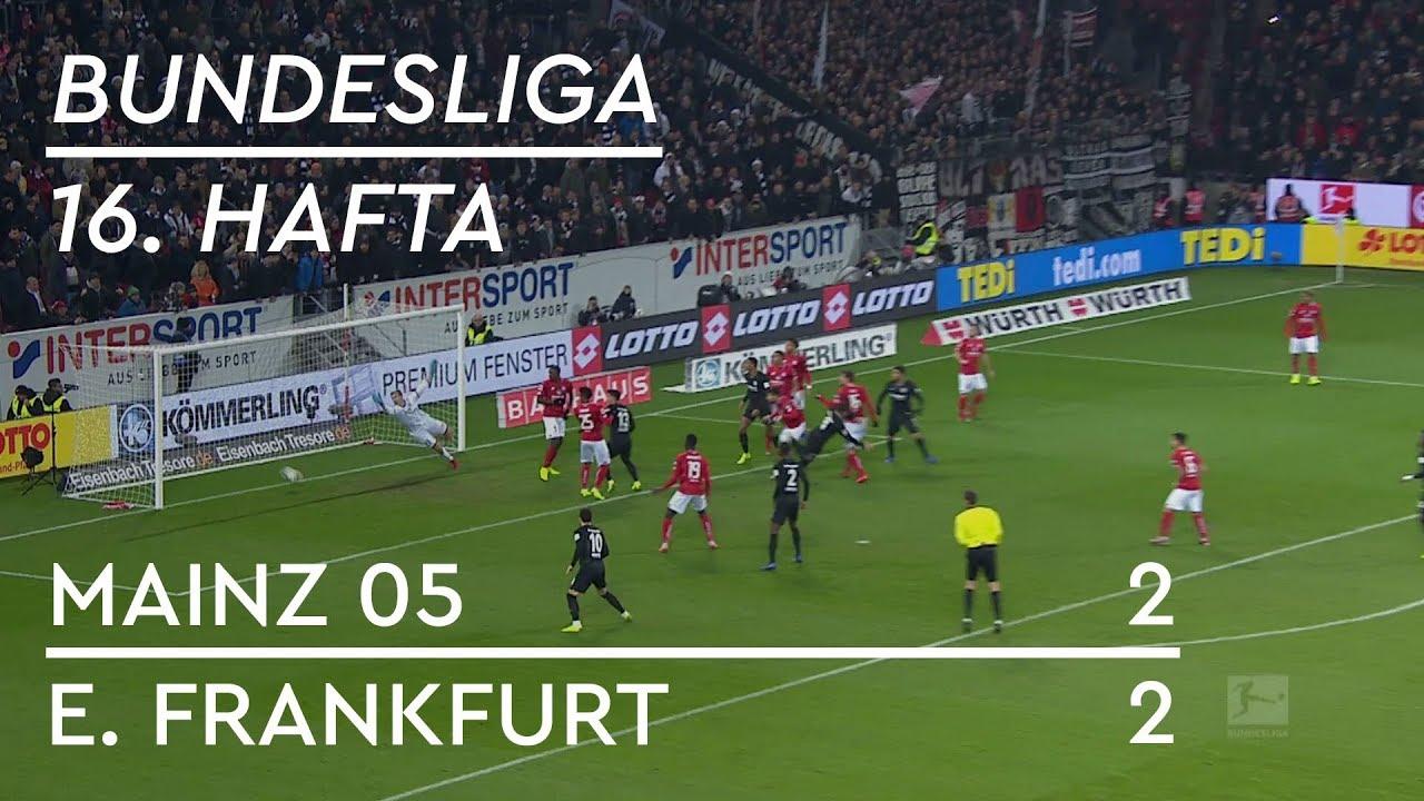 Mainz 05 - Eintracht Frankfurt (2-2) - Maç Özeti - Bundesliga 2018/19 - Türkçe Anlatım