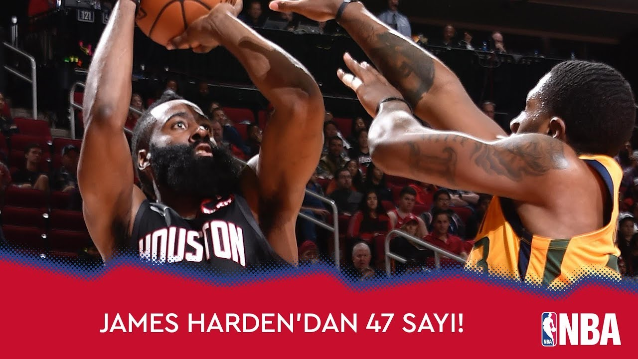James Harden'dan 47 Sayı!
