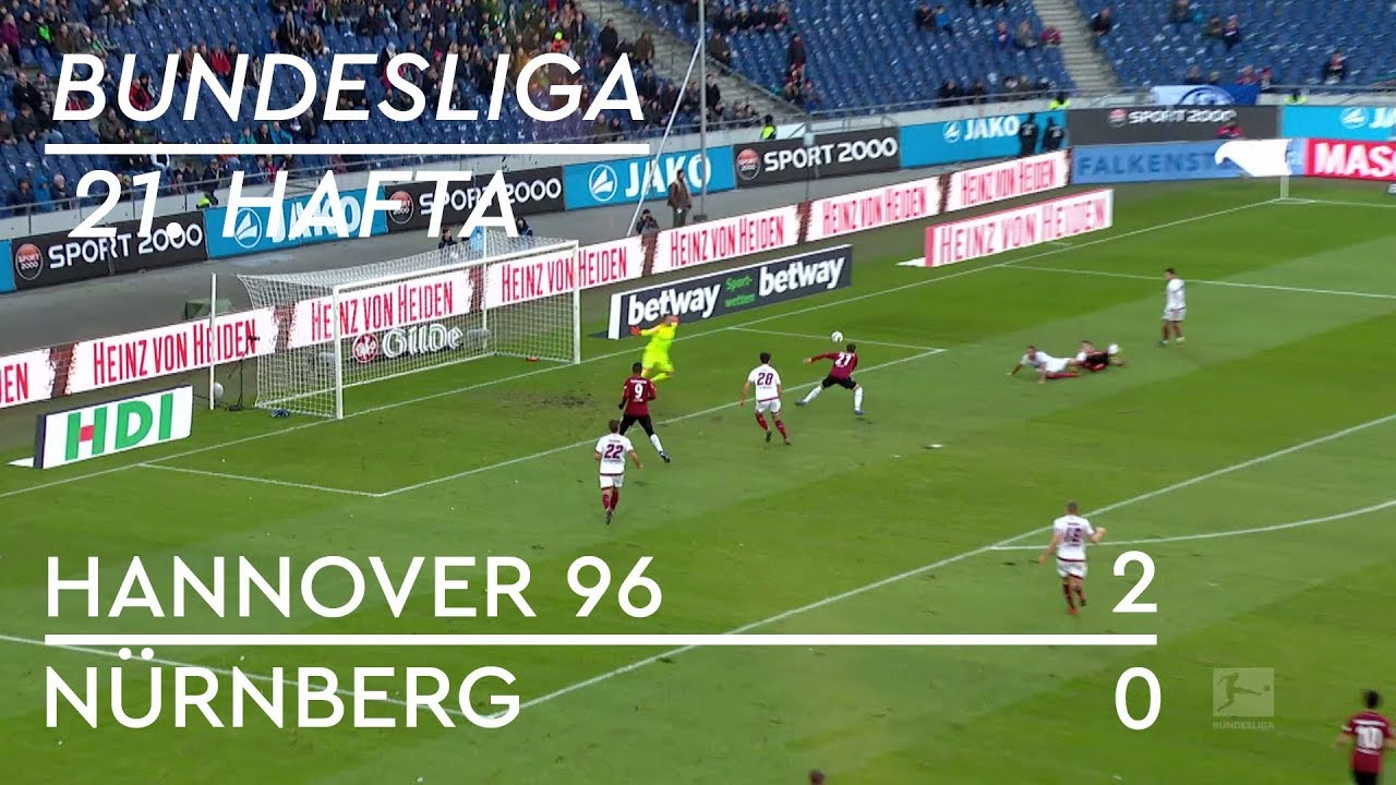 Hannover 96 - Nürnberg (2-0) - Maç Özeti - Bundesliga 2018/19