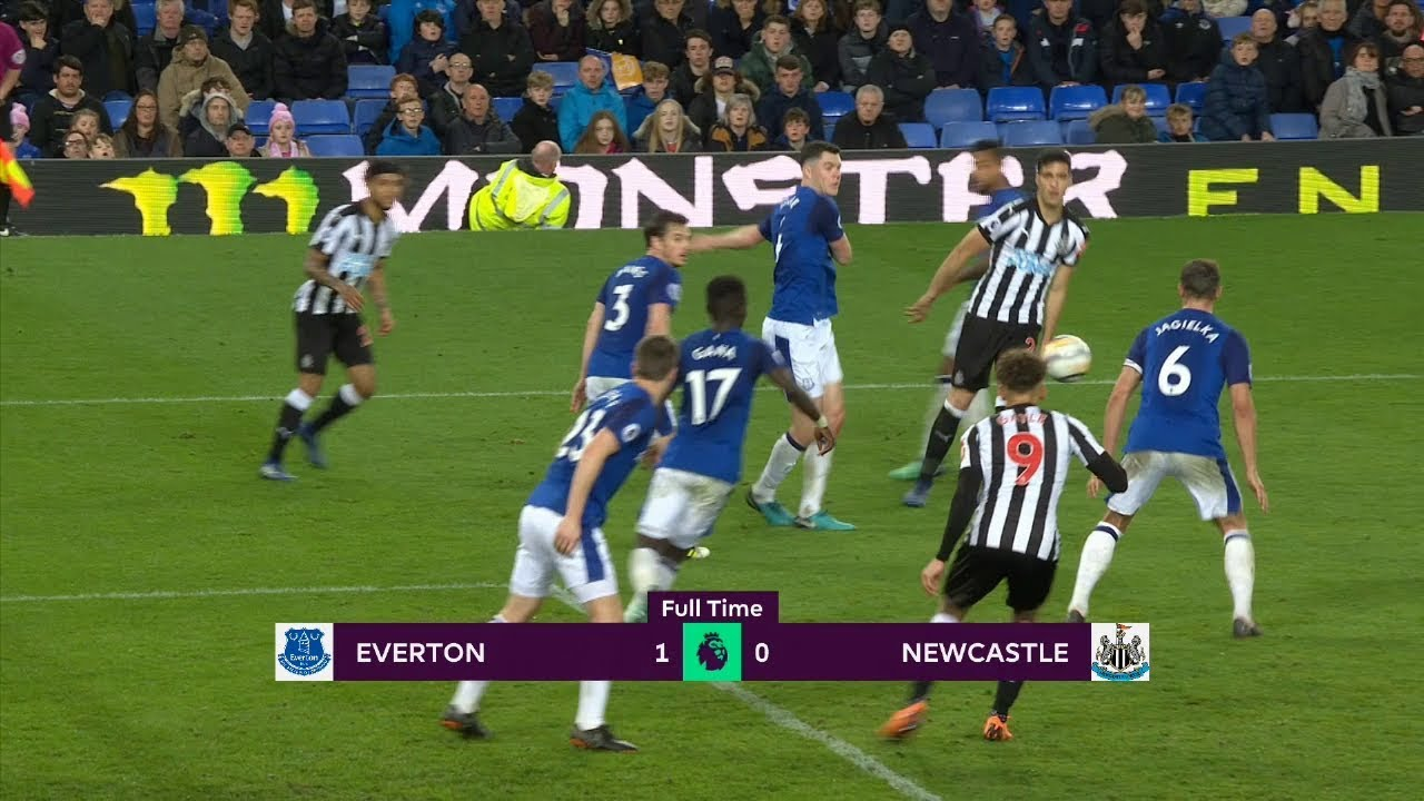 Everton - Newcastle United (1-0) - Maç Özeti - Premier League 2017/18