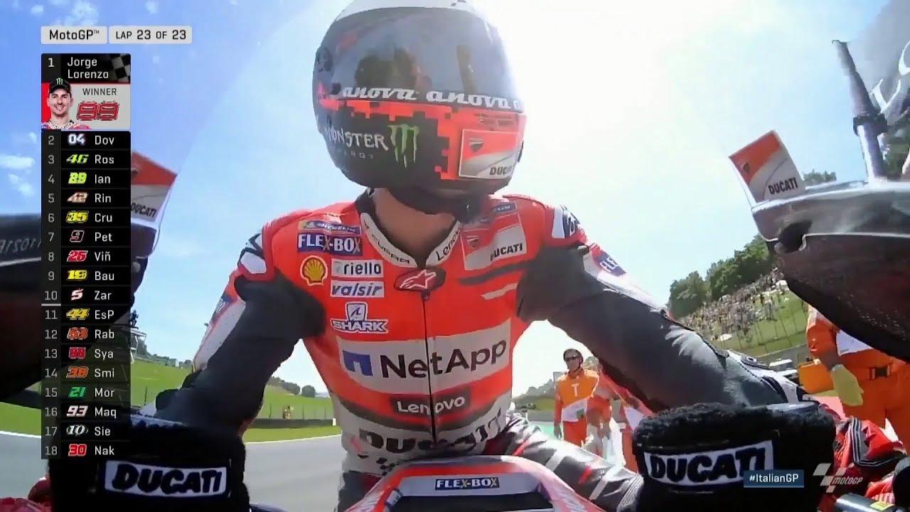 ItalianGP'de Son Tur (MotoGP 2018 - İtalya Grand Prix)