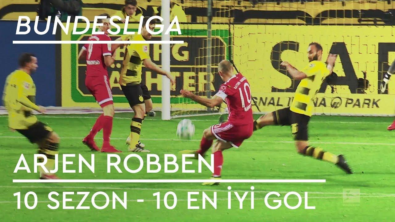 Arjen Robben | 10 Sezon - 10 En İyi Gol