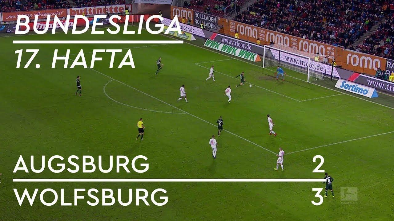 Augsburg - Wolfsburg (2-3) - Maç Özeti - Bundesliga 2018/19 - Türkçe Anlatım