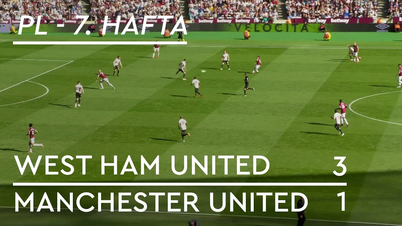 West Ham - Manchester United (3-1) - Maç Özeti - Premier League 2018/19